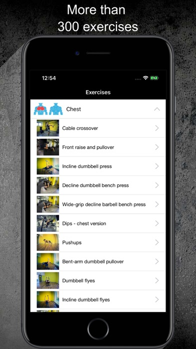 Gym Guide Pro workoutsのおすすめ画像4