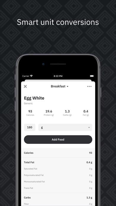 Carbon - Smart Diet Coach Screenshot