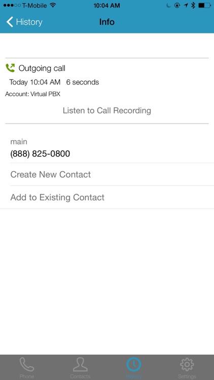 Virtual PBX Softphone screenshot-4