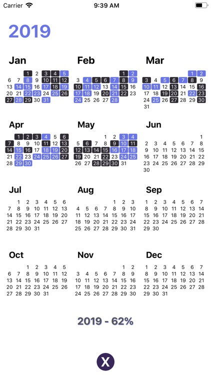 New Years Resolutions Tracker screenshot-4