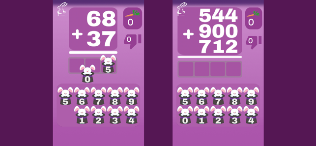 ‎Addition Subtraction Toothy Screenshot