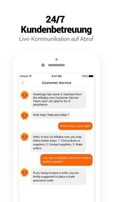 Screenshot for Alibaba.com B2B-Handel-App in Austria App Store