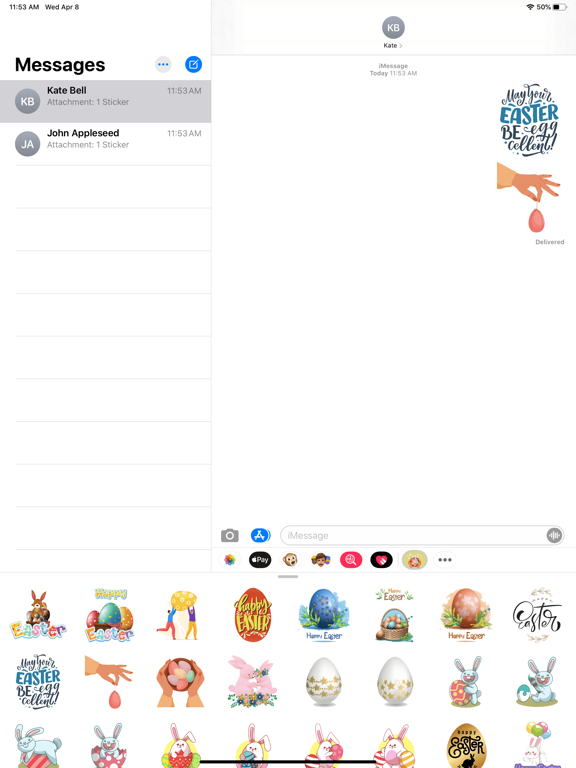 Easter Egg Day Stickers screenshot 4