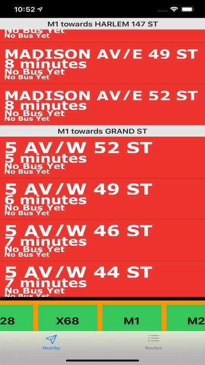 Bus NYC in 3D City View Lite screenshot-5