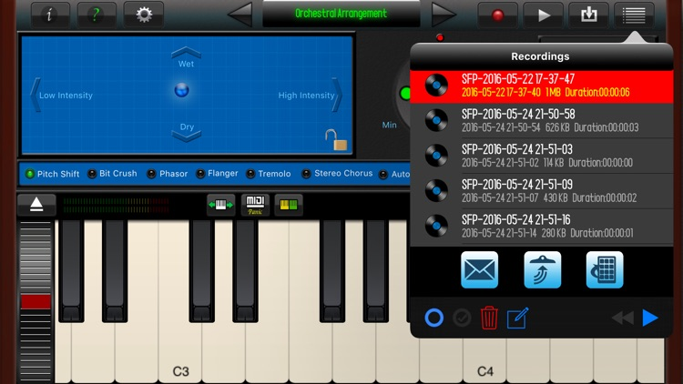 SoundFont Pro for iPhone screenshot-4