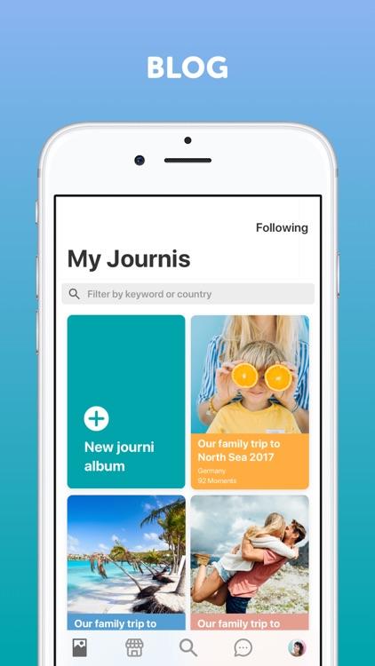 Travel Journal by Journi screenshot-0