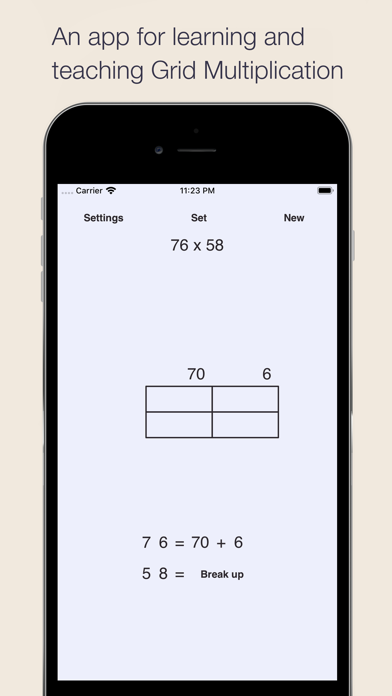 Grid Multiplication Screenshots