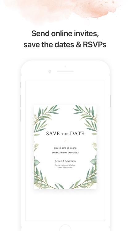 Joy - Wedding App & Website screenshot-5