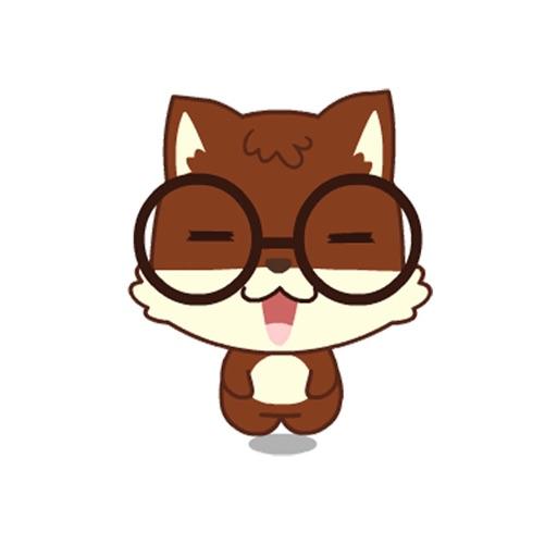 VH-Cute Squirrel Sticker