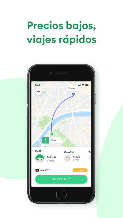 Screenshot for Bolt (Taxify) in Spain App Store