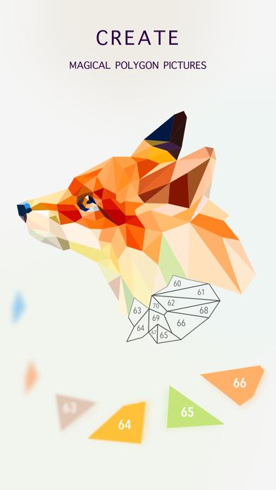 Poly Jigsaw - 私塗り絵本のおすすめ画像3