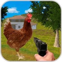 Shoot Chicken - Frenzy Farmer