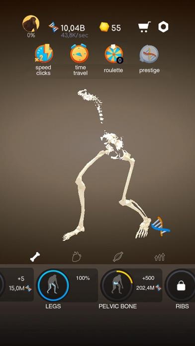 Скриншот №5 к Idle Evolution - Cell to Human
