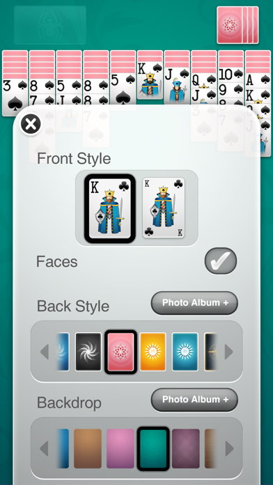 ⋆Spider Solitaire+ screenshot1