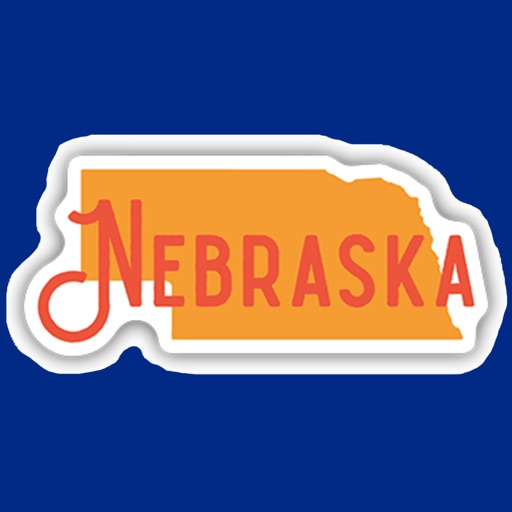 Nebraska emoji - USA stickers icon