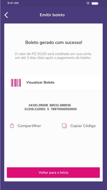 Banco BIG - Conta Digital screenshot-3