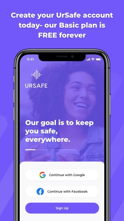 The UrSafe App screenshot-4