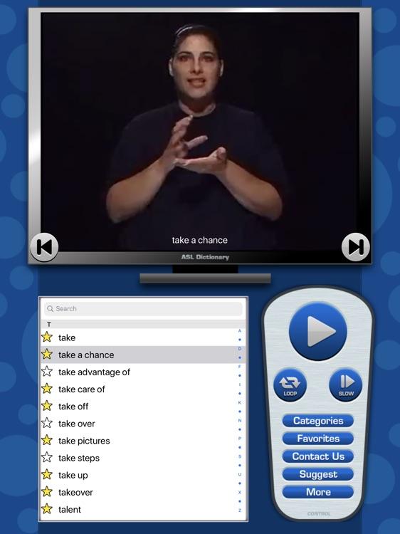 ASL Dictionary for iPad screenshot-3