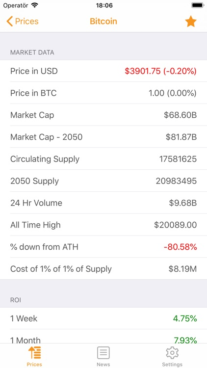 Crypto Insight - Prices & News screenshot-3