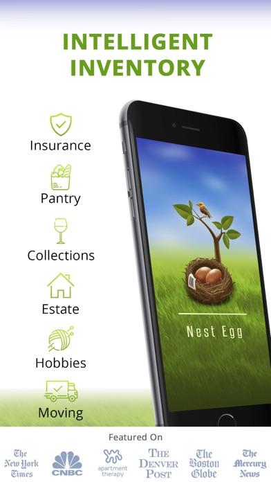Nest Egg - Inventory Lite screenshot one