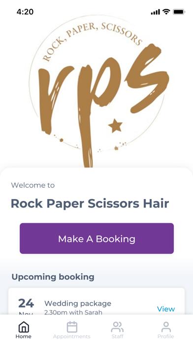 Rock Paper Scissors Hair screenshot one