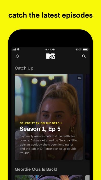MTV Play: on demand reality tv
