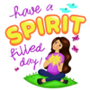 Christian Stickers - Blessed