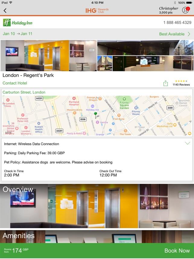 IHG® Hotel Deals & Rewards on the App Store