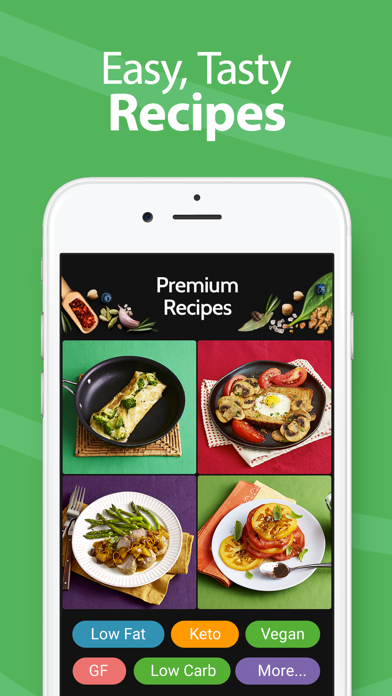 Calorie Counter Pro Mynetdiary review screenshots