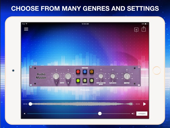 Screenshot #2 for AudioMaster Pro: Improve Sound