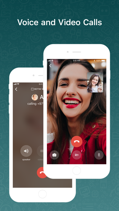 Screenshot for BOTIM - video calls and chat in United Kingdom App Store