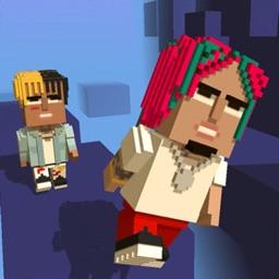 Blocky Gang Roller Jump