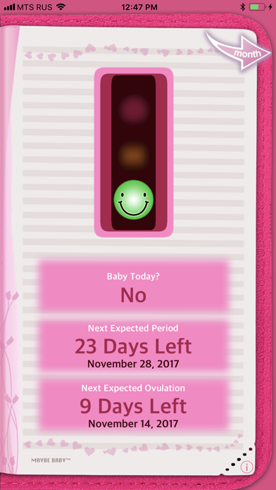 Maybe Baby Ovulation Tracker review screenshots