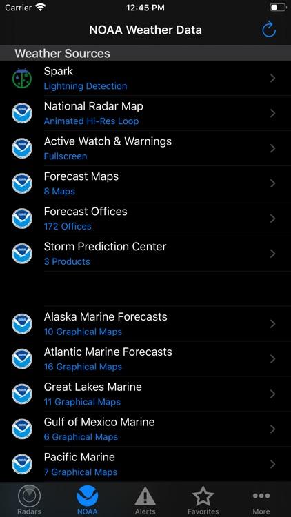 NOAA Weather Radar screenshot-6