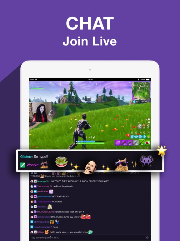Twitch: Live Game Streaming-ipad-3