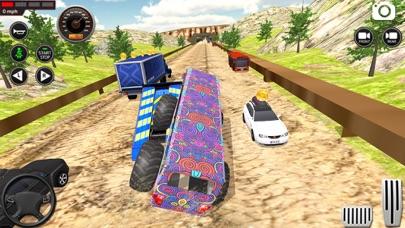 モンスター バス 未舗装道路 レーシング 3Dのおすすめ画像3