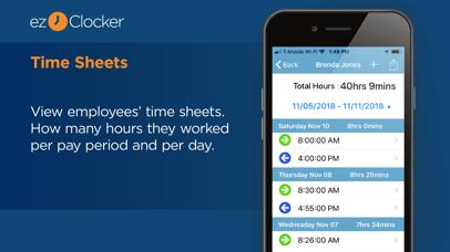 ezClocker: Employee Time Track Screenshot