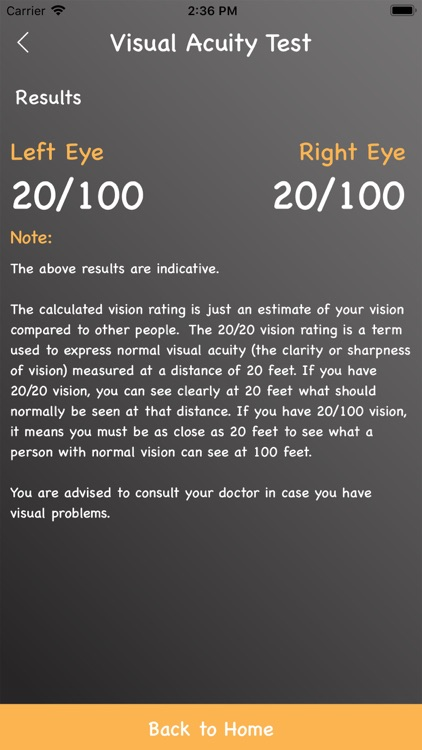 Eye Care For Diabetes screenshot-5