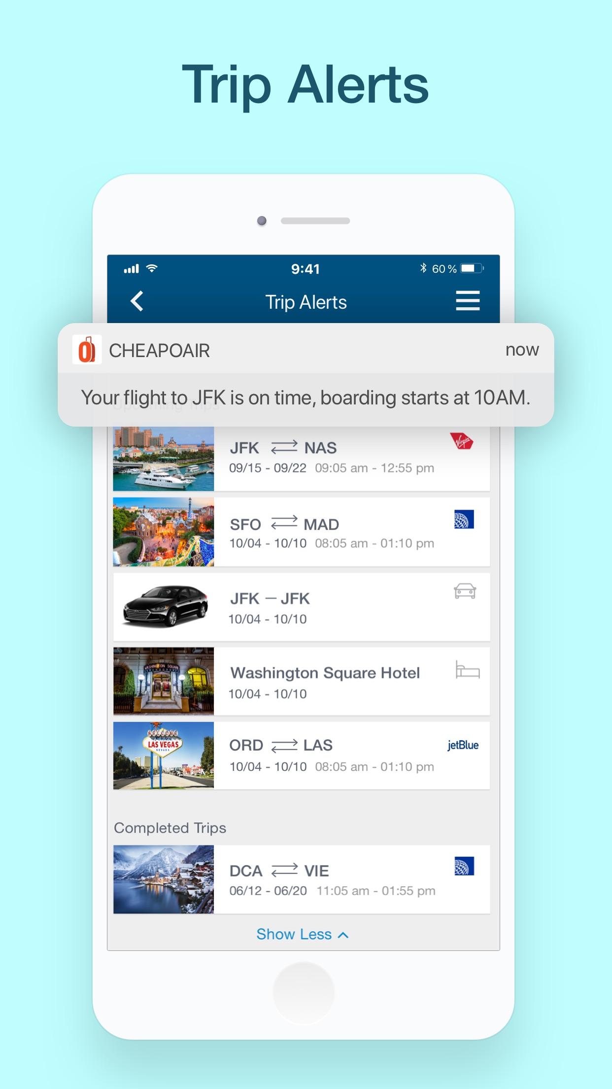 CheapOair: Cheap Flight Deals Screenshot