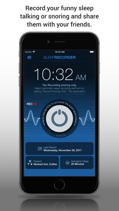 Screenshot for Prime Sleep Recorder Pro in Denmark App Store