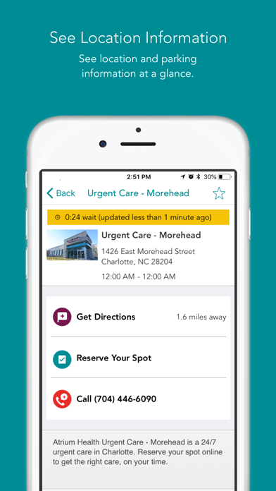 messages.download MyAtriumHealth software