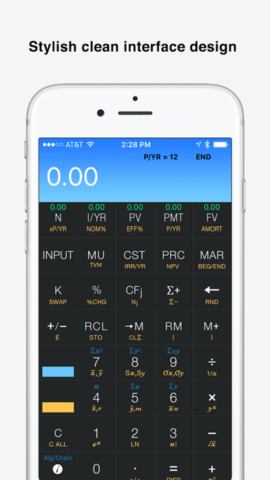 10bii+ Financial Calculator Screenshots