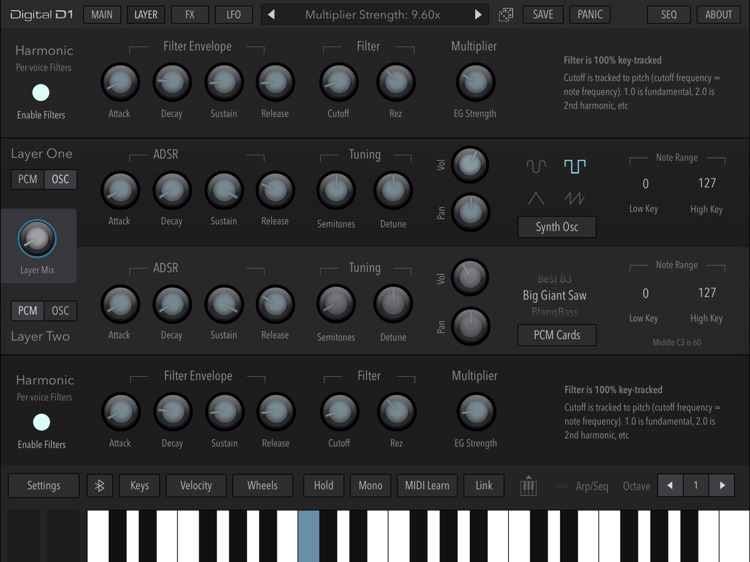 AudioKit Digital D1 Synth screenshot-3