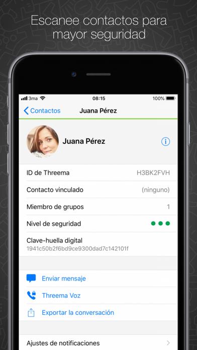 Screenshot for Threema in Mexico App Store
