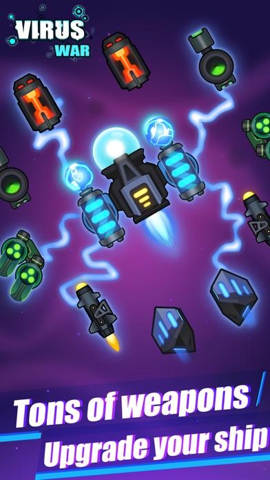 Virus War- Space Shooting Game Screenshot 2