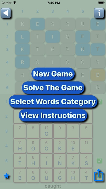 Gallimaufry Words Lite screenshot-4