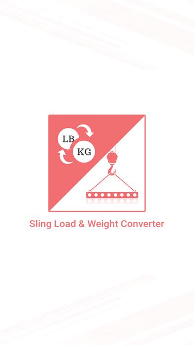 Sling load N Weight Converter screenshot 1