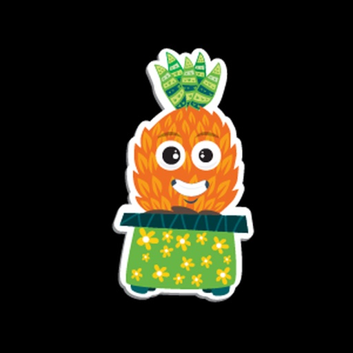 Ananas Dance Sticker