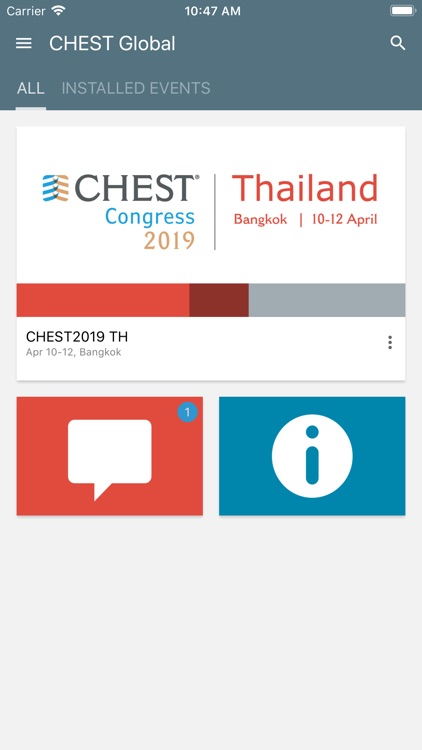 CHEST Global by American College of Chest Physicians