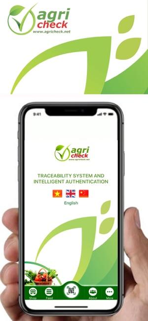 AgriCheck -Truy xuất &Xác thực